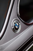 Motor Metal Prints - BMW 3.0 CS Closeup Metal Print by Mike Reid
