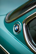 Motor Metal Prints - BMW 3.0 CS Curves Metal Print by Mike Reid