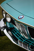 Motor Metal Prints - BMW 3.0 CS Front Metal Print by Mike Reid