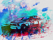 Bmw Watercolor Photos - Bmw 3.0 Csl  by Irina  March