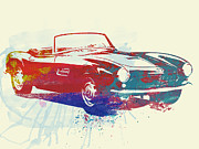 Bmw Racing Classic Bmw Framed Prints - Bmw 507 Framed Print by Irina  March