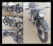 World Speed Record Photos - BMW Art Deco Bikes by Maj Seda