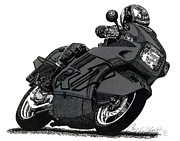 Pen  Drawings - Bmw K1 by Cory Still