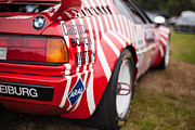 Motor Metal Prints - BMW M1 Racecar Metal Print by Mike Reid