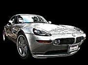 Sheats Framed Prints - BMW Z8 Alpina Roadster Framed Print by Samuel Sheats