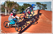 Geraldine Alexander - Bmx Racing -the Finish...