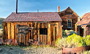 Old West Photo Metal Prints - Boarded Up Metal Print by Cat Connor