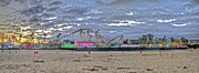 Santa Cruz Art - Boardwalk and Amusement 2 by SC Heffner