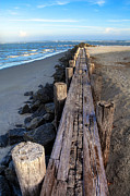 Sand Acrylic Prints - Boardwalk - Charleston SC Acrylic Print by Drew Castelhano