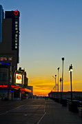 Blues Digital Art - Boardwalk House of Blues at Sunrise by Bill Cannon