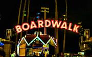 Boardwalk Print by Digital Kulprits