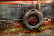 Abstracts Photo Metal Prints - Boat - Abstract - It was a good year Metal Print by Mike Savad