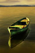 Warm Digital Art Originals - Boat  by Baris Sapmaz