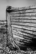Fishing Boat Prints - Boat Detail Print by Mark Rogan
