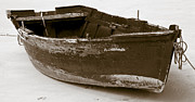 Old Objects Photo Metal Prints - Boat Metal Print by Frank Tschakert