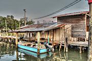 Boat House At Nelson's Print by Lynn Jordan