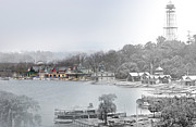 Boathouse Row Photos - Boat House Row Paddle Boats by Eric Nagy