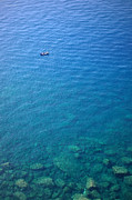 Azur Originals - Boat In Clear Sea Water by Ioan Panaite