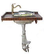 Vanity - Boat Motor Vanity by Benjamin Bullins