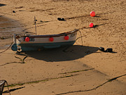 Boat On Beach 04 Print by Pixel Chimp