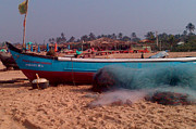 Mini Arora - Boat on Calungute Beach