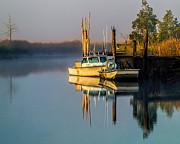 Nick Zelinsky - Boat on the Creek