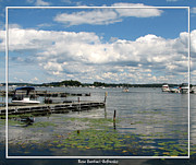 Artists4god Posters - Boat Pier on Lake Ontario Poster by Rose Santuci-Sofranko