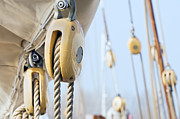 Navigate Framed Prints - Boat pulleys Framed Print by Massimiliano Leban