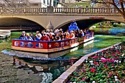 Riverwalk Originals - Boat Ride at the Riverwalk by Ricardo Ruiz de Porras