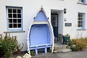 Charming Cottage Photo Originals - Boat Seat by Paul Felix