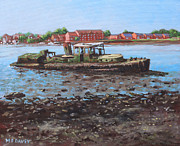 Martin Davey - Boat wreck at Bitterne Manor Park