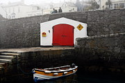 Angling Framed Prints - Boathouse Framed Print by Aidan Moran