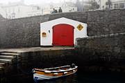 Boathouse Print by Aidan Moran