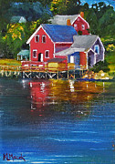 Karen Macek - Boathouse on Bailey...