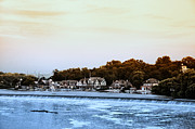 Boathouse Row Posters - Boathouse Row and Farmount Dam Poster by Bill Cannon