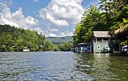 Susan Leggett - Boathouses on the Lake