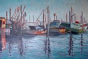 Karen Snider - Boats and Dock