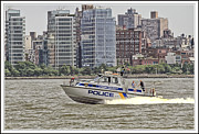 Coasting Posters - Boats and ships on the Hudson 20 Poster by Geri Scull