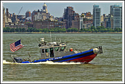 boats and ships on the Hudson Print by Geraldine Scull ART