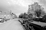 Waterway Prints - Boats at Fradley Junction Print by Rod Johnson