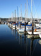 Pandute Digital Art Prints - Boats At Rest. Sausalito. California. Print by Ausra Paulauskaite