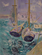 Aleezah Selinger - Boats at Sea