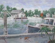 Tony Caviston - Boats at Tarpon Springs