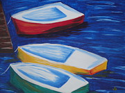 Jeannette Brown - Boats At The Dock