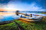 Debra and Dave Vanderlaan - Boats At The Lake