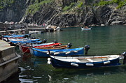 Dany  Lison - Boats in Vernazza