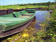 Team Paintings - Boats by Stock Fine Art