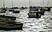 Murcia Photos - Boats on Mar Menor by Sarah Loft