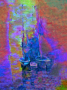 Michael Mixed Media Posters - Boats on the Water Poster by Michael Knight