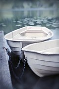 Rowboat Photos - Boats by Priska Wettstein